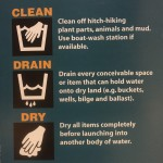 Clean Drain Dry Instructions for Boaters (ISCBC)
