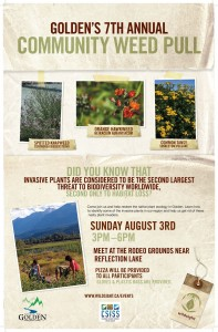Golden Community Weed Pull August 2014