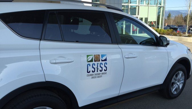 CSISS wheels are rolling!