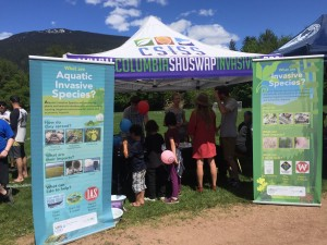 2017_05_20 Timber Days Outreach Booth Revelstoke