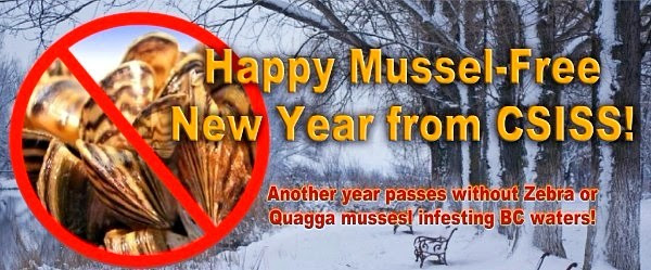 Happy Mussel-free New Year from CSISS!